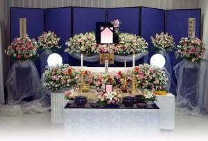 生花祭壇 杉並 葬儀